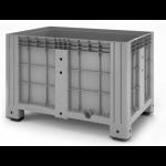 11.602F.91.PE.C10  Пластиковый контейнер iBox 1200х800 (сплошной,на ножках)