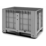 11.602F.91.PE.C9  Пластиковый контейнер iBox 1200х800 (сплошной,на полозьях)