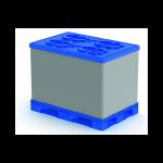 Разборный пластиковый облегчённый контейнер Polybox