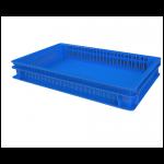Хлебный ящик перфорированные стенки сплошное дно (600х400х75) 12.437.60.PE R