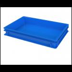 Хлебный ящик полимерный для полуфабрикатов сплошной (600х400х75)  12.437.60.PE R