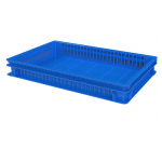 Хлебный ящик перфорированные стенки и перфорированное дно (600х400х75) 12.437.60.PE R