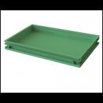 Ящик хлебный перфорированные стенки, сплошное дно (740х440х65) 12.436e.70.PE.R