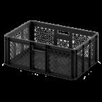 Электропроводящий ящик 600х400х220 перфорированный (12.315.99A.S45.W)