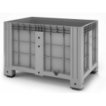 11.602F.91.PE.C10  Пластиковый контейнер iBox 1200х800 (сплошной, на ножках)