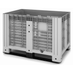 11.602F.91.PE.C9  Пластиковый контейнер iBox 1200х800 (сплошной, на полозьях)