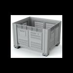 11.603.92.PE.C10 Пластиковый контейнер iBox 1200х1000  (перфорированный, на ножках)