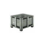 Пластиковые контейнеры CP 1200x1000 (перфорированный, на ножках)