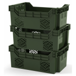 Вкладываемый, штабелируемый контейнер 600х400х245 (12.416)