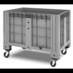 11.602F.91.PE.C13  Пластиковый контейнер iBox 1200х800 (сплошной, на колесах)